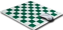 Mouspad Chess Boards